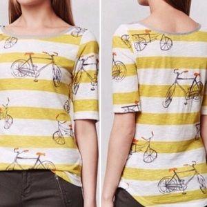 Anthropologie Postmark Bicycle Daydreamer Tee